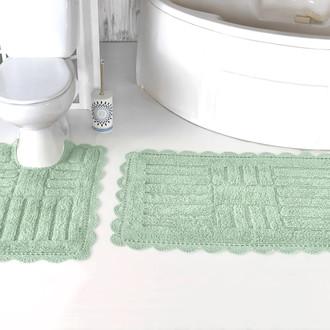 Набор ковриков для ванной Modalin ANCOR хлопок ментол