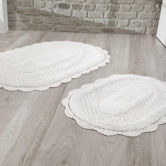 Набор ковриков Modalin LOKAL хлопок кремовый