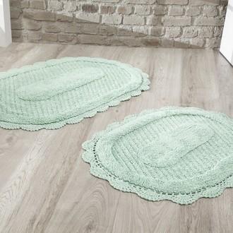 Набор ковриков Modalin LOKAL хлопок (ментол)