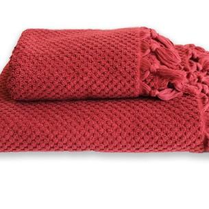 Полотенце для ванной Buldan's CAKIL махра бордовый 90х150
