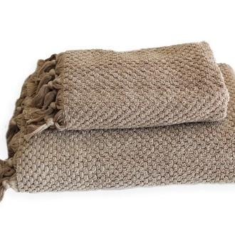 Полотенце для ванной Buldan's CAKIL махра (бежевый)