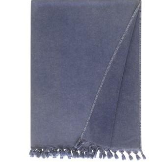 Полотенце-палантин (пештемаль) Buldan's GAIA хлопок (тёмно-синий)