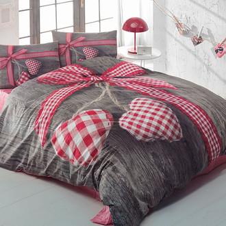 Комплект постельного белья Cotton Box 3D LIFE LOVEBOX хлопковый ранфорс (пудра)