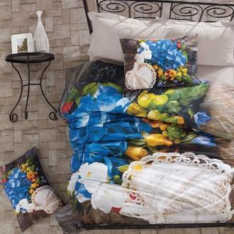 Комплект постельного белья Cotton Box 3D LIFE FRILLY хлопковый ранфорс