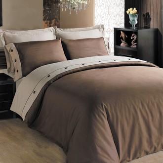 Комплект постельного белья Cotton Box FASHION LINE хлопковый сатин делюкс (кофейный)
