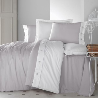 Комплект постельного белья Cotton Box FASHION LINE хлопковый сатин делюкс (серый)