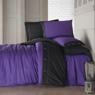 Комплект постельного белья Cotton Box FASHION LINE хлопковый сатин делюкс (пурпурный)