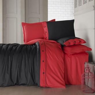 Комплект постельного белья Cotton Box FASHION LINE хлопковый сатин делюкс (красный)