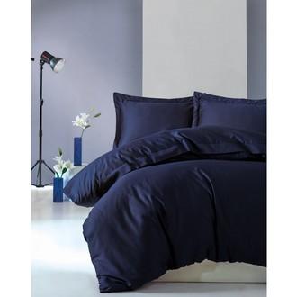 Постельное белье Cotton Box ELEGANT хлопковый сатин делюкс синий