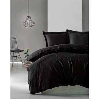 Комплект постельного белья Cotton Box ELEGANT хлопковый сатин делюкс (чёрный)