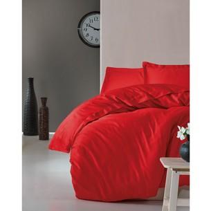 Постельное белье Cotton Box ELEGANT хлопковый сатин делюкс красный евро