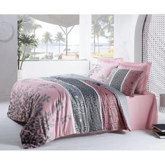 Комплект постельного белья Cotton Box SATEN MAHIDEVRAN хлопковый сатин (пудра)