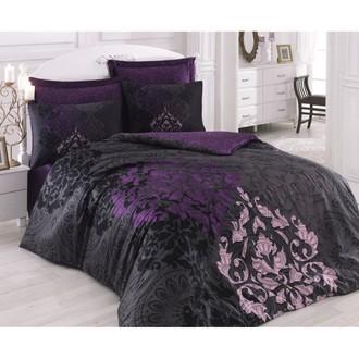 Комплект постельного белья Cotton Box SATEN KOSEM SULTAN хлопковый сатин (фиолетовый)