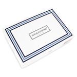 Постельное белье Tivolyo Home CATENA хлопковый люкс-сатин тёмно-синий семейный, фото, фотография