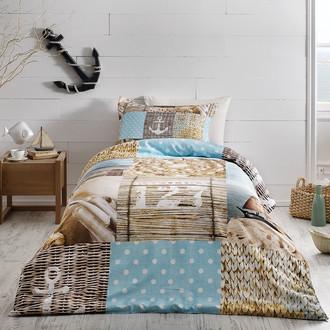 Комплект детского постельного белья Tivolyo Home SAILOR хлопковой сатин делюкс