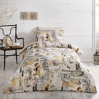 Комплект детского постельного белья Tivolyo Home SEASIDE хлопковой сатин делюкс