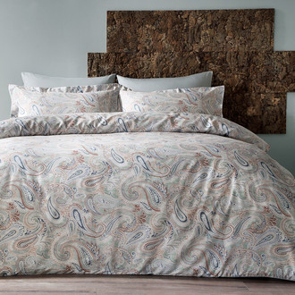 Комплект постельного белья Tivolyo Home SAGE хлопковый люкс-сатин