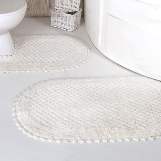 Набор ковриков для ванной Modalin PRIOR хлопок 50*70, 60*100 (кремовый)