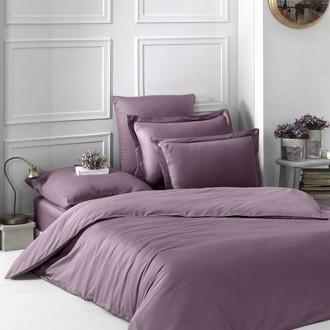 Комплект постельного белья Karna LOFT хлопковый сатин (грязно-розовый)