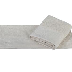 Полотенце для ванной Hobby Home Collection ALICE хлопковая махра бежевый 50х90