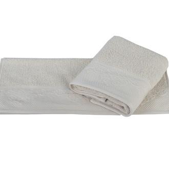 Полотенце для ванной Hobby Home Collection ALICE хлопковая махра бежевый
