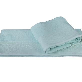 Полотенце для ванной Hobby Home Collection ALICE хлопковая махра бирюзово-зелёный