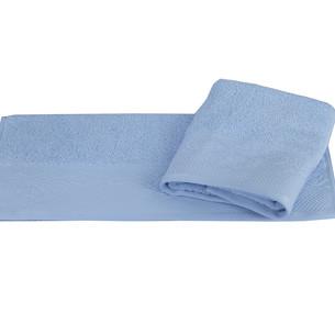 Полотенце для ванной Hobby Home Collection ALICE хлопковая махра голубой 100х150