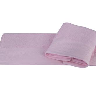 Полотенце для ванной Hobby Home Collection ALICE хлопковая махра (розовый)