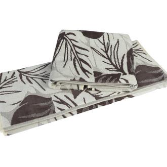 Полотенце для ванной Hobby Home Collection AUTUMN хлопковая махра+велюр (визон)