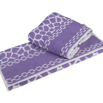 Полотенце для ванной Hobby Home Collection MARBLE хлопковая махра (лиловый)