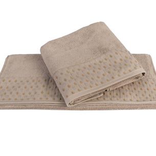 Полотенце для ванной Hobby Home Collection MARSEL хлопковая махра коричневый 100х150