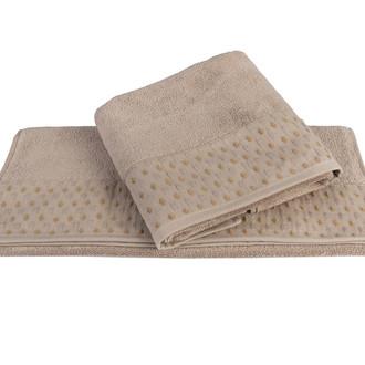 Полотенце для ванной Hobby Home Collection MARSEL хлопковая махра коричневый