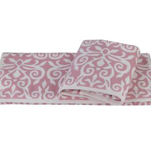 Полотенце для ванной Hobby Home Collection VALENSIYA хлопковая махра розовый 70х140