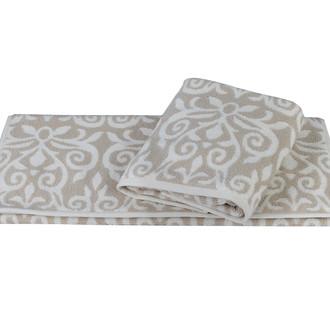 Полотенце для ванной Hobby Home Collection VALENSIYA хлопковая махра (светло-коричневый)