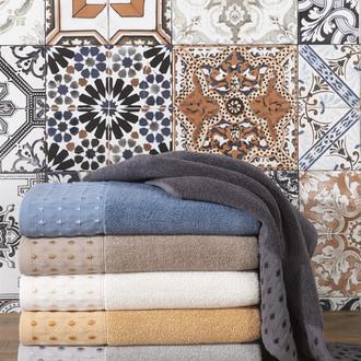 Полотенце для ванной Hobby Home Collection MARSEL хлопковая махра (тёмно-серый)