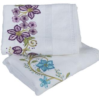 Набор полотенец для ванной 50х90 2 шт. Hobby Home Collection ZERAFET хлопковая махра