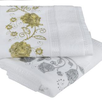 Набор полотенец для ванной 50х90 2 шт. Hobby Home Collection ZUMRUT хлопковая махра