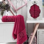 Набор полотенец для ванной 50х80, 70х130 Merzuka DAMASK 8011 хлопковая махра 06, фото, фотография