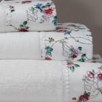 Набор полотенец для ванной 3 пр. Tivolyo Home ROSELAND хлопковая махра кремовый, фото, фотография