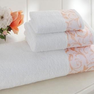 Набор полотенец для ванной 3 пр. Tivolyo Home ARMONIE хлопковая махра