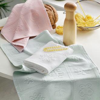 Набор кухонных полотенец Tivolyo Home MIX хлопковая вафля