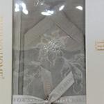 Скатерть прямоугольная Tivolyo Home ATHENA жаккард серый 160х260, фото, фотография