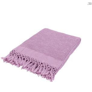 Плед-полотенце Buldan's BOHEM лиловый 50х90