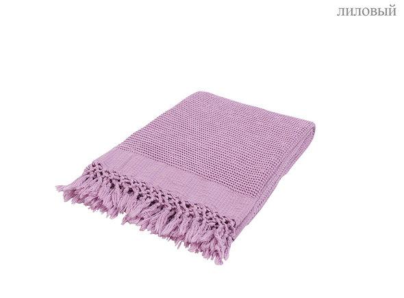 Плед-полотенце Buldan's BOHEM (лиловый) 80*160, фото, фотография