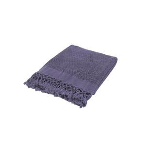 Плед-полотенце Buldan's BOHEM фиолетовый 80х160