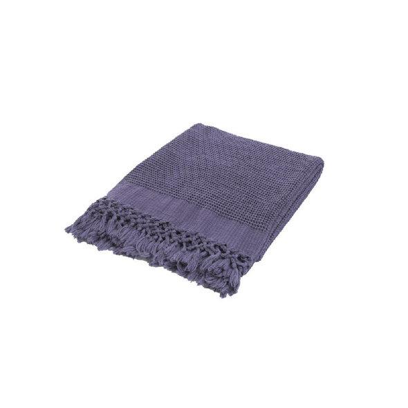 Плед-полотенце Buldan's BOHEM (фиолетовый) 80*160, фото, фотография