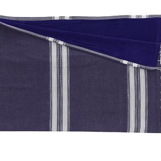 Полотенце-палантин (пештемаль) Buldan's MARE хлопок (синий)