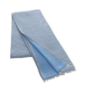 Полотенце-палантин пештемаль Buldan's TRENDY хлопок голубой 90х150