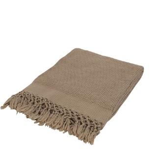 Плед-полотенце Buldan's BOHEM (коричневый)