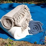 Плед-полотенце Buldan's BOHEM бежевый 130х170, фото, фотография